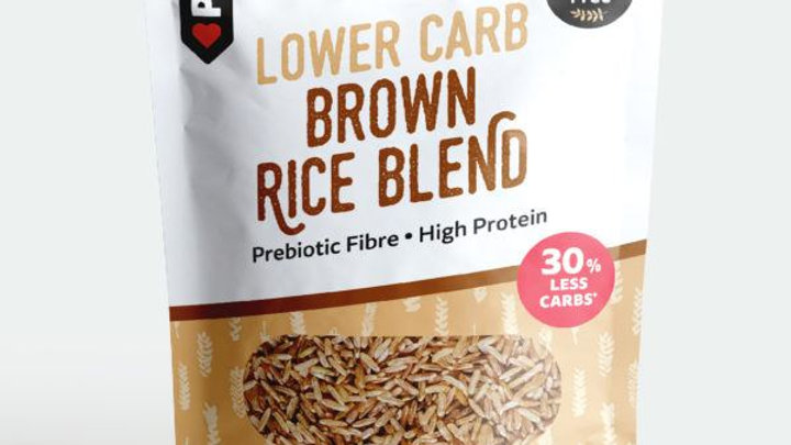 Lower Carb Brown Rice Blend