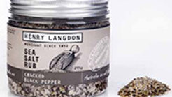 Henry Langdon's Cracked Black Pepper  Rub