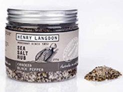 Henry Langdon's Cracked Black Pepper  Rub
