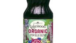LAKEWOOD Pomegranate & Blueberry Juice Blend Organic 946mL