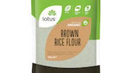 Lotus Brown Rice Flour Organic