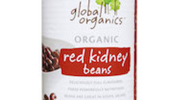Global Organics Red Kidney Beans Can