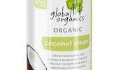 Global Organics Coconut Cream 400 gm Can