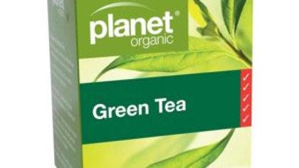 Planet Organic Green Tea Bags 25S