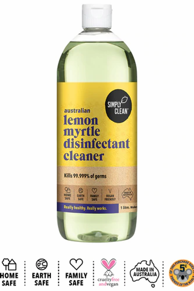 Simply Clean Lemon Myrtle Disinfectant 1ltr