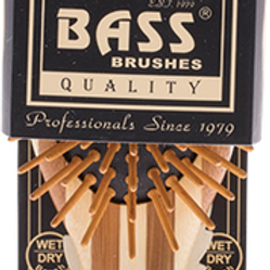 Bass Oval Bamboo Brush Small