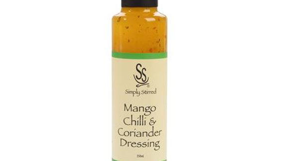 Simply Stirred - Mango Chilli And Coriander Dressing 250ml Bottle