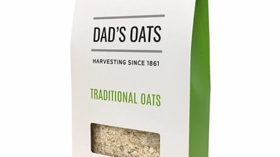 Dad's Traditional Rolled Oats 500 gram