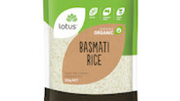 lotus Basmati Rice Organic