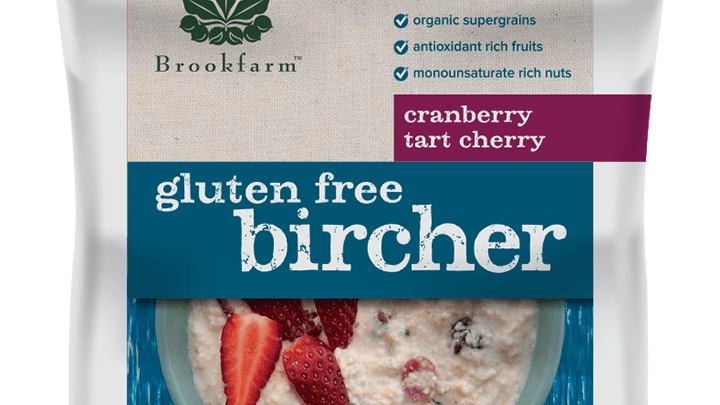 Gluten Free Bircher with Cranberry & Tart Cherry