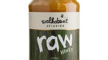 Walkabout Raw Honey 500gram