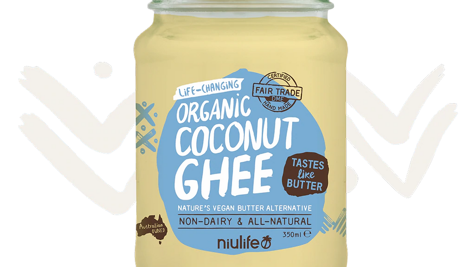 Coconut Ghee - Certified Organic 350ml Glass Jar