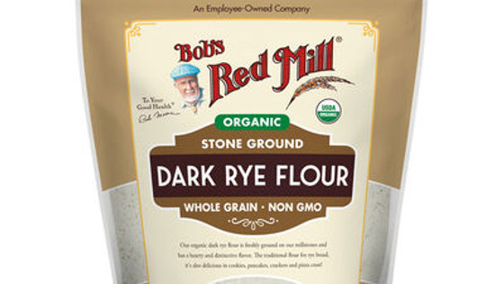 Bob`s Red Mill Dark Rye Flour - Organic 567g