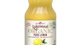 LAKEWOOD Lemon Juice Organic 370mL