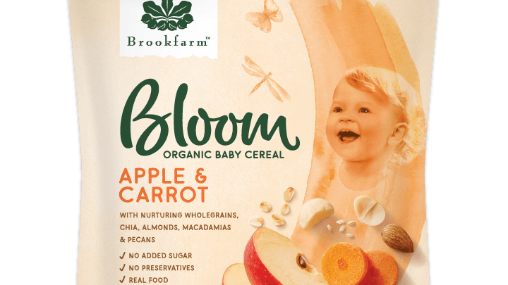 Organic Baby Cereal Apple & Carrot