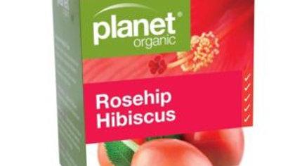 Planet Organic Rose Hibiscus Tea Bags 25S