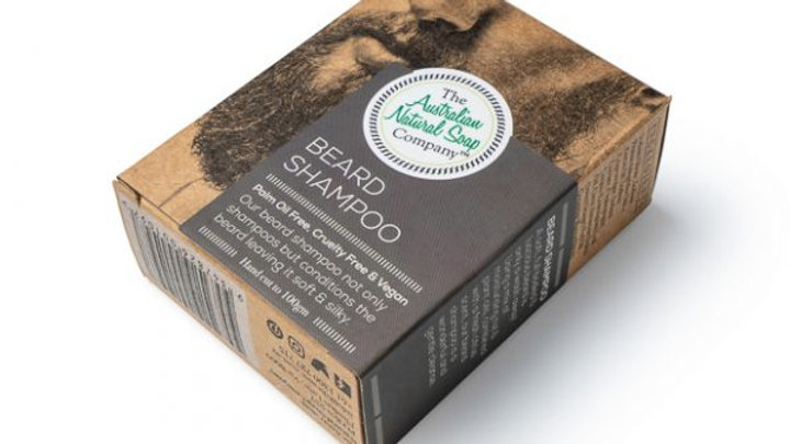 The Australian Natural Soap Co Solid Beard Shampoo Bar