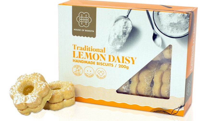 Lemon Daisy Biscuits 200gram