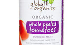 Global Organics Whole Tomatoes 400g Can