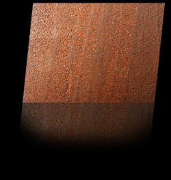 eisen oxidiert - iron oxidized