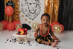 King of the Jungle Cake Smash