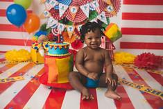 Carnival Cake Smash