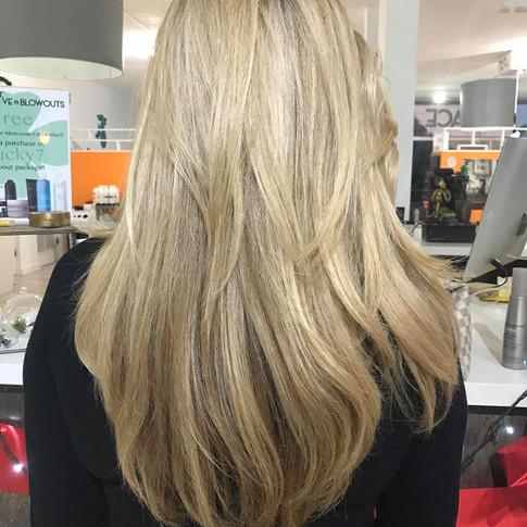 Hair cut for long hair