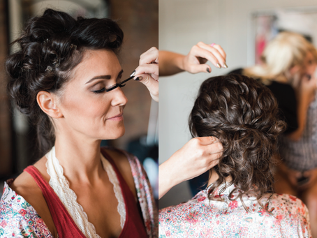 Which Comes First: Makeup or Hair?