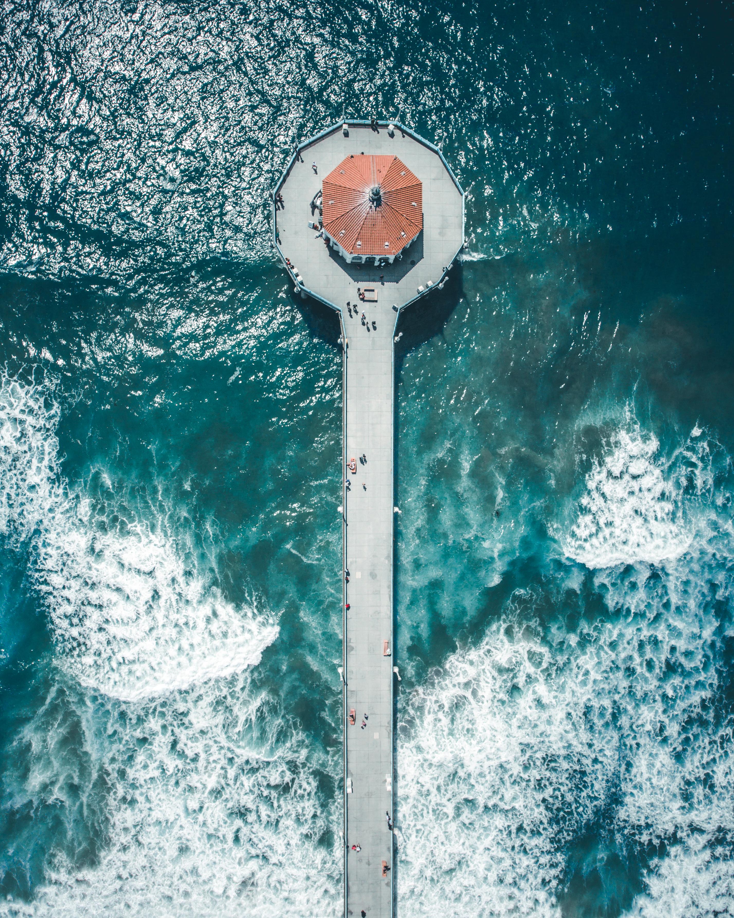 Manhattan Beach From Above
