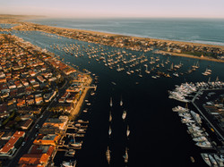 Newport Beach From Above