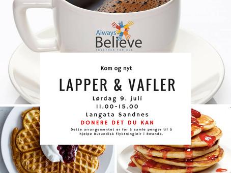 Kom og nyt Lapper & Vafler!