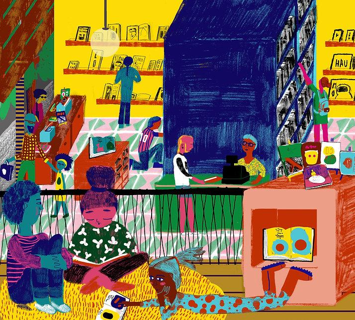bookstore children reading livraria libreria books