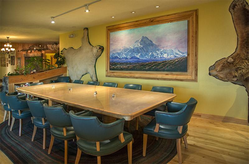 The Alaska Room Dining Area