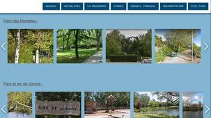 Nouvelle page sur le site : Parcs, lacs et aires de jeux