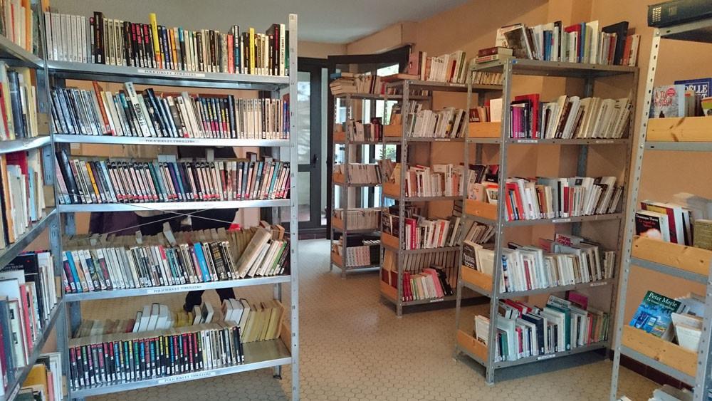 Des centaines de livres vous attendent à la bibliothèque des Tours de Seysses