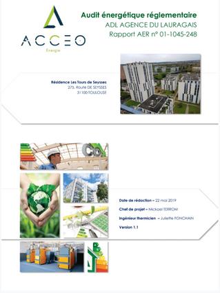 Audit Energétique : Comptes Rendus