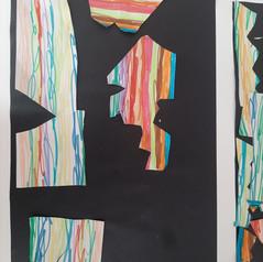 Peinture avec coton-tiges