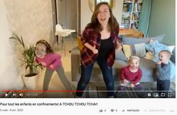 A Tchuo chou tacha par Géraldine et ses petits
