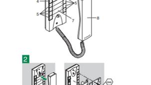 Notice combiné audio (Pour celles et ceux qui viennent de changer de combiné/sonnette de l'ouver
