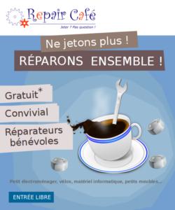 Café Bricol' ou comment réparer vos objets !
