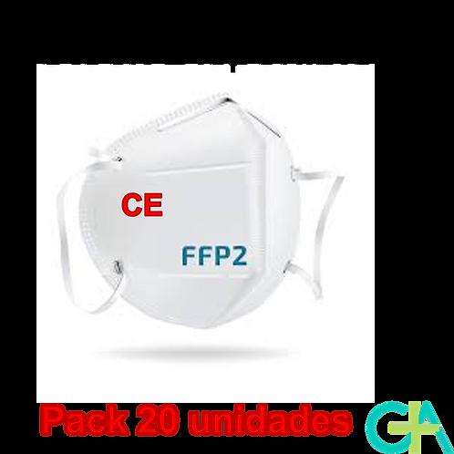 Mascarillas FFP2 20 Unidades