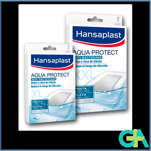 Hansaplast Aqua Protect Apósito Anti-Bacteriano XL y XXL Impermeable