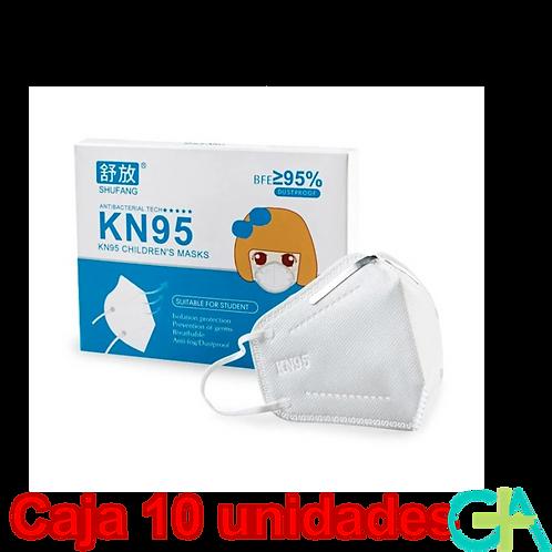 Mascarillas FFP2 INFANTILES 10 Unidades
