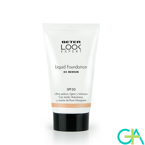 BETER Base de maquillaje líquida SPF 30 Medium