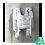 Thumbnail: Asiento abatible tipo U de pared con patas 2185