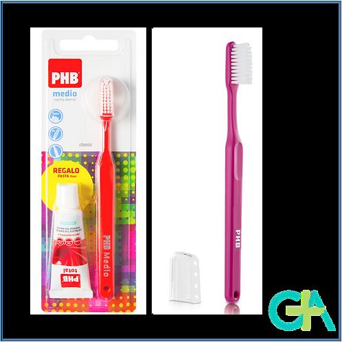 PHB Cepillo Classic Medio 1 unidad + regalo pasta dental