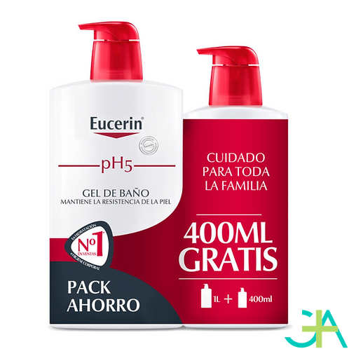 EUCERIN Gel de Baño 1000ml + 400ml