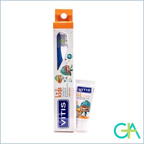 VITIS KIDS CEPILLO DENTAL INFANTIL + REGALO PASTA DENTAL