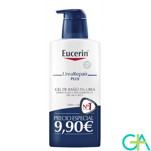 EUCERIN UreaRepair PLUS 5% Urea gel de baño