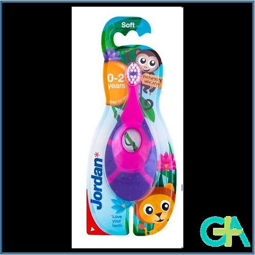 JORDAN NIÑOS cepillo dental 0-2 años